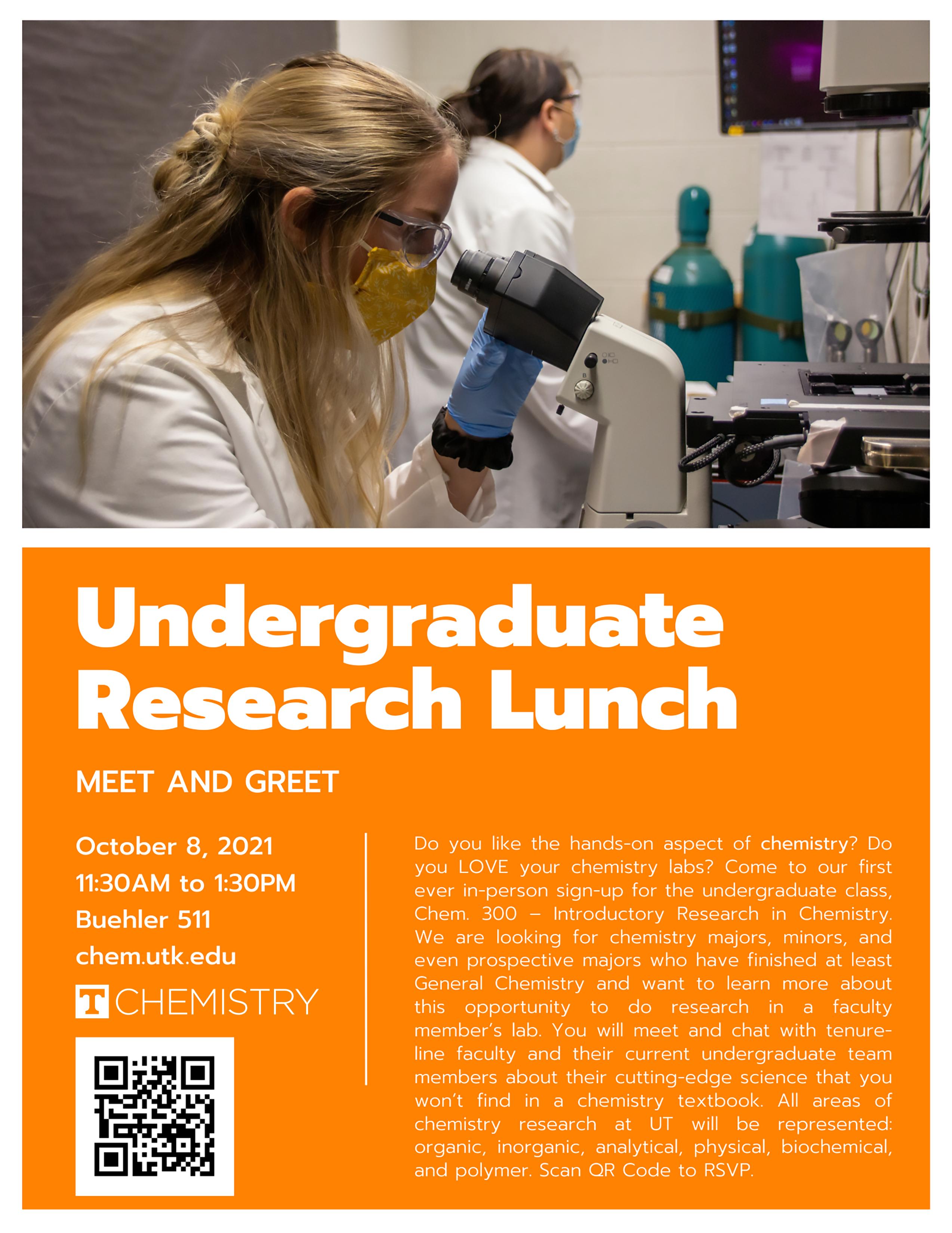 2021 Undergraduate Research Lunch