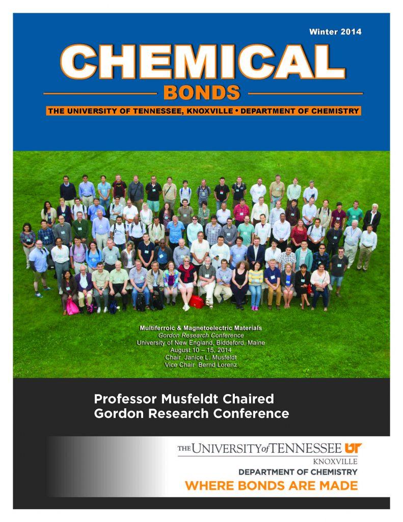 Chemical Bonds, Fall 2014