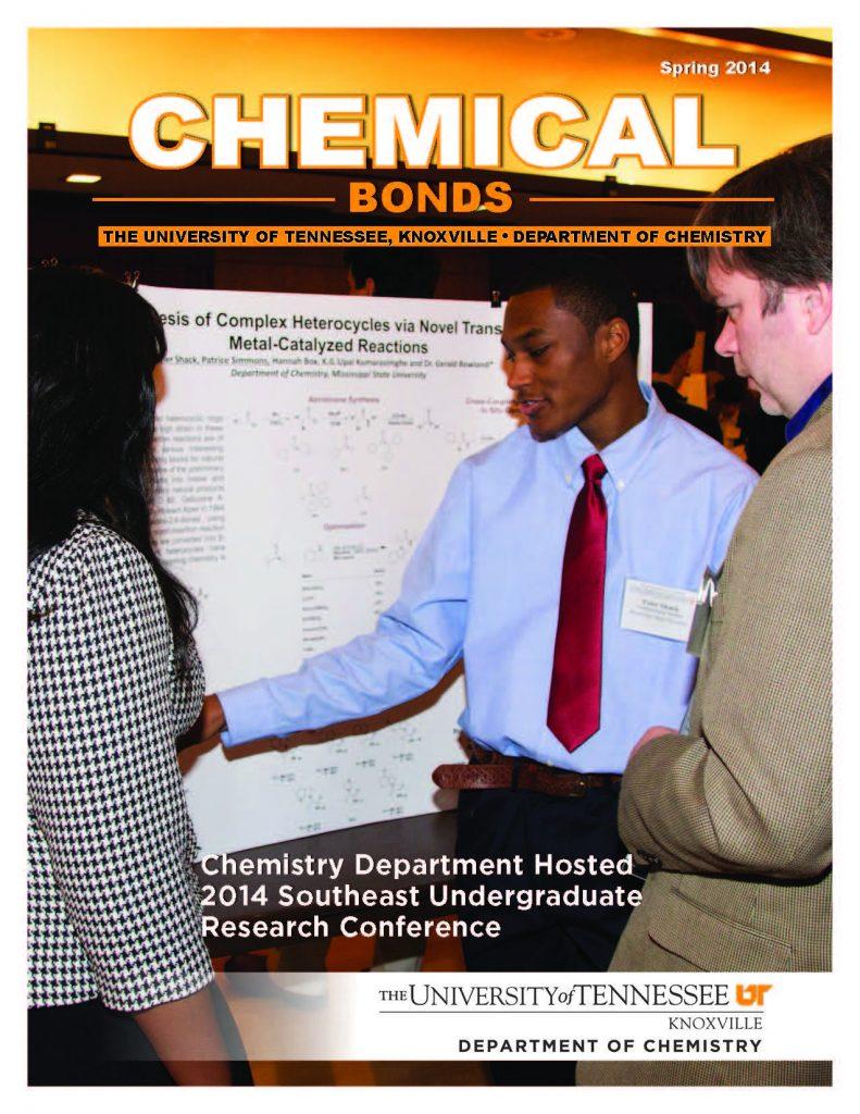 Chemical Bonds, Spring 2014