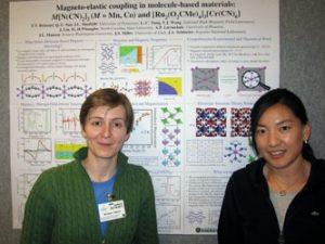 Tatiana with collaborator Jia Liu