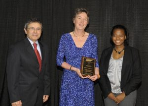 Professor Christiane Barnes Received TLSAMP Faculty of the Year Award