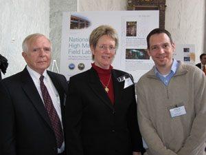 Professor Musfeldt Attended NUFO Capitol Hill Display
