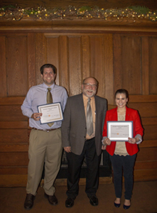 Miller and Seymour win BOV Poster Competition